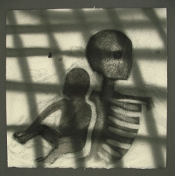 Skeleton with Child 1992